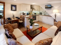 The Byre Traditional Stone Cottage Lounge